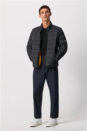 "Pepe Jeans ανδρικό μπουφάν καπιτονέ με logo patch Regular Fit  ""Heinrich"""