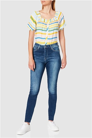 Pepe Jeans γυναικείο τζην παντελόνι ψηλόμεσο Skinny Fit ''Dion'' (30L)