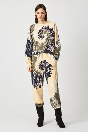 Pepe Jeans γυναικείο παντελόνι φόρμας με all-over tie-dye print ''Atenea''