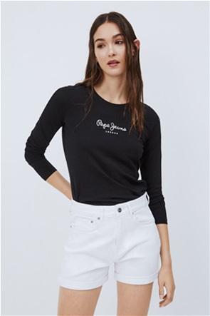 Pepe Jeans γυναικεία μπλούζα με logo print ''Virginia''