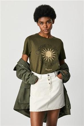 Pepe Jeans γυναικείο T-shirt με graphic print ''Astrid''