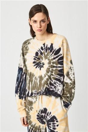 Pepe Jeans γυναικεία μπλούζα φούτερ με all-over tie-dye print ''Adele''