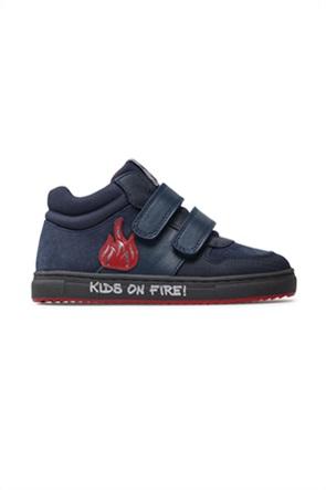 Garvalin παιδικά sneakers με Velcro και κεντημένο patch (28-30)