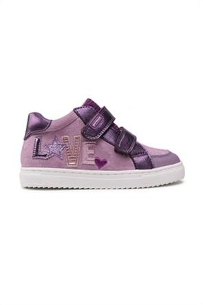 Garvalin παιδικά sneakers με Velcro και κεντημένο σχέδιο (24-27)