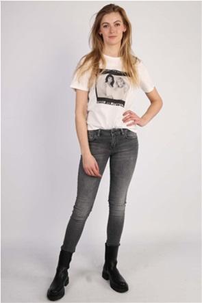 Kendall + Kylie γυναικείο T-shirt με photo print