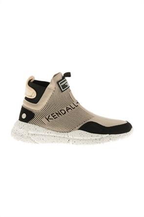 Kendall + Kylie γυναικεία sneakers μποτάκια με logo patch ''Niv''