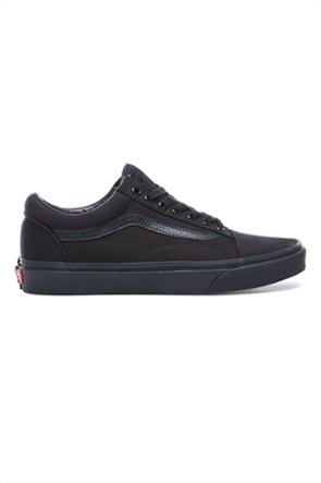 "Vans unisex υφασμάτινα παπούτσια με μαύρη σόλα ""Old Skool"""