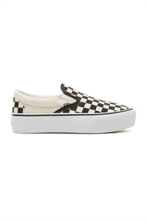 "Vans unisex πλατφόρμες ""Checkerboard Classic Slip-On"""