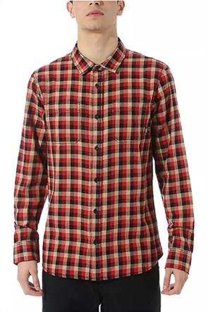 Vans ανδρικό καρό πουκάμισο με τσέπες ''Alameda Flannel''