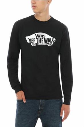 Vans ανδρική μακρυμάνικη μπλούζα με logo print