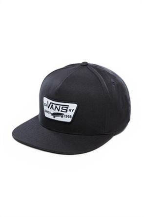 "Vans ανδρικό καπέλο με logo patch ""Full Patch Snapback"""