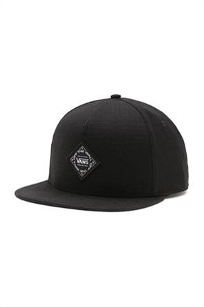 "Vans ανδρικό καπέλο με logo patch ""Pelzer Snapback"""