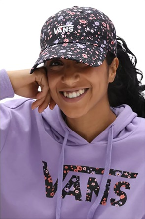 Vans γυναικείο καπέλο jockey με all-over floral print ''Court Side''