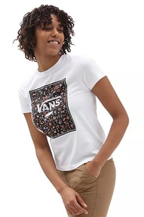 Vans γυναικείο T-shirt με graphic print ''Boxed In Rose''