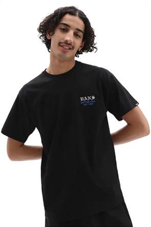 Vans ανδρικό T-shirt με photo print στο πίσω μέρος ''Poppy Field''