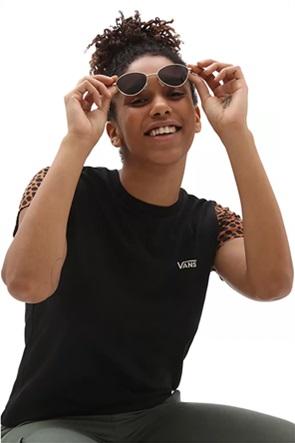"Vans γυναικείο T-shirt με animal print μανίκια ""Wild Colourblock"""