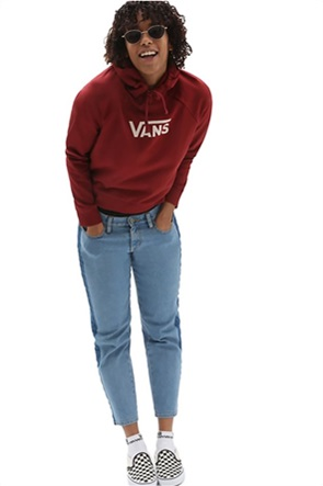 """Vans γυναικεία μπλούζα φούτερ με logo print """"Flying V"""""""