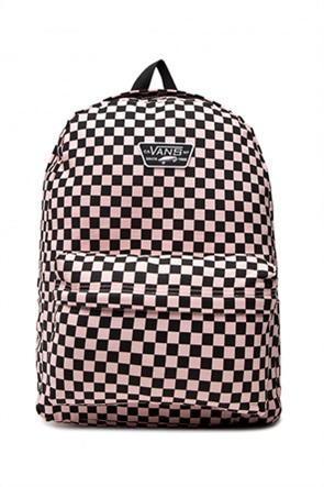 "Vans γυναικείο backpack καρό με logo patch ""Realm"""