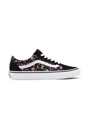 """Vans unisex sneakers με floral print """"Old Skool"""""""