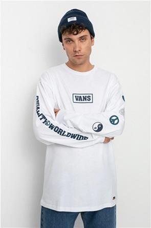 Vans ανδρική μπλούζα με print ''Take A Stand''
