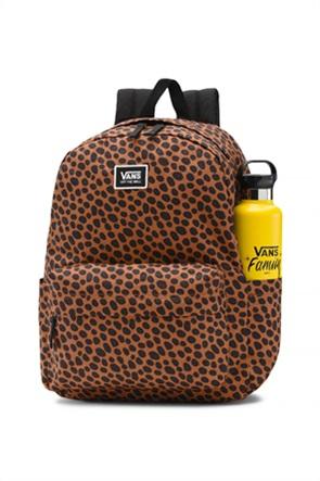 Vans γυναικείο backpack με all-over leopard print ''Old Skool''