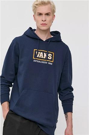 Vans ανδρική φούτερ μπλούζα με κουκούλα και logo print