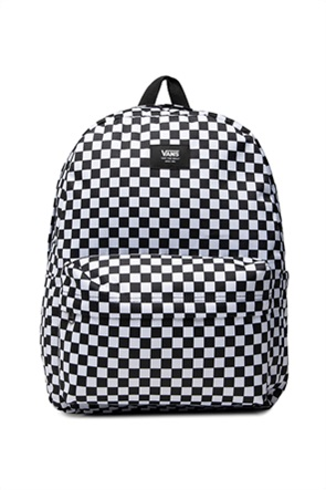Vans unisex backpack με all-over checkerboard print ''Old Skool''