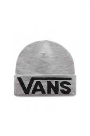 Vans ανδρικός σκούφος με κεντημένο λογότυπο ''Drop V Tall Cuff Beanie''