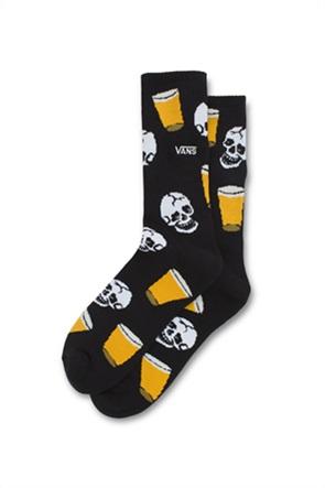 "Vans ανδρικές ψηλές κάλτσες με all-over graphic print ""Dive Bar Crew"""