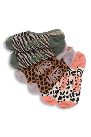 """Vans σετ γυναικείες κάλτσες με animal print """"Safari Canoodle""""(3 τεμάχια)"""