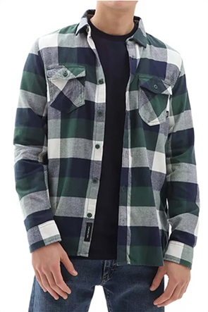 Vans ανδρικό πουκάμισο φανελένιο με καρό σχέδιο ''Box Flannel''