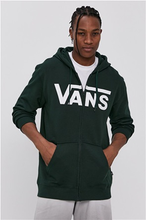 Vans ανδρική φούτερ ζακέτα με logo print ''Classic Zip Hoodie II''