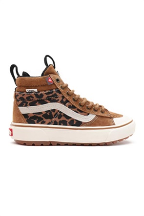 "Vans unisex sneakers μποτάκια με leopard print ''Sk8-Hi Mte-2"""