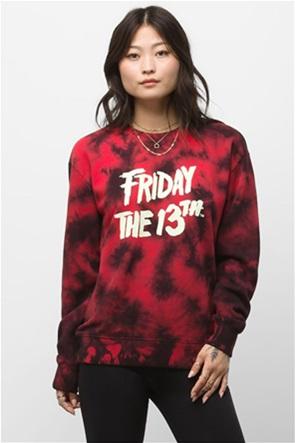 """Vans unisex μπλούζα φούτερ με tie-dye print """"""""X FRIDAY THE 13TH"""""""