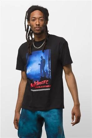 "Vans unisex T-shirt με graphic print ""Χ Nightmare on Elm Street"""
