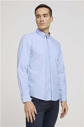 Tom Tailor ανδρικό πουκάμισο με τσέπη