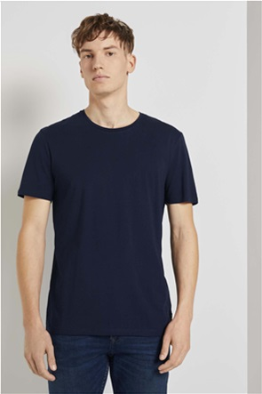 Tom Tailor ανδρικό T-shirt μονόχρωμο ''Basic''