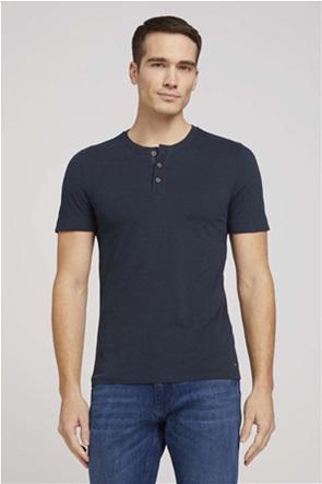 Tom Tailor ανδρική μπλούζα με κουμπιά