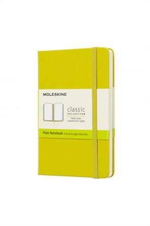 "Moleskine σημειωματάριο ""Plain Notebook Dandelion Yellow"""