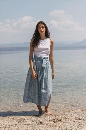 Helmi γυναικείο midi φούστα με floral print