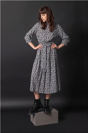 Helmi γυναικείο midi φόρεμα με floral print
