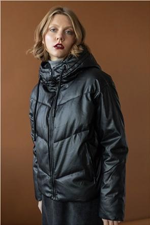 Helmi γυναικείο μπουφάν κοντό faux leather