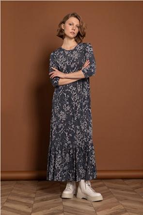 Helmi γυναικείο maxi φόρεμα με floral print