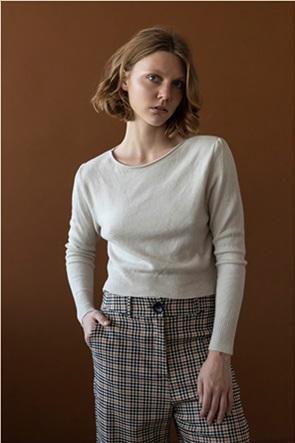 Helmi γυναικεία πλεκτή μπλούζα cropped