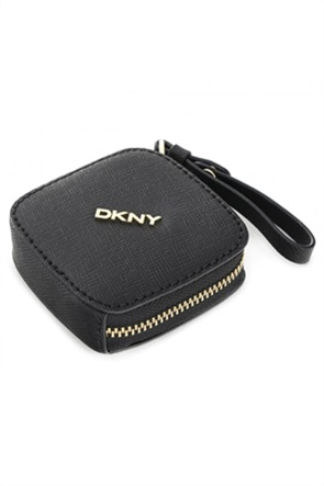 DKNY γυναικεία θήκη για ακουστικά με μεταλλικό λογότυπο