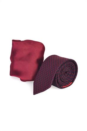 Vardas σετ ανδρική γραβάτα με μαντήλι