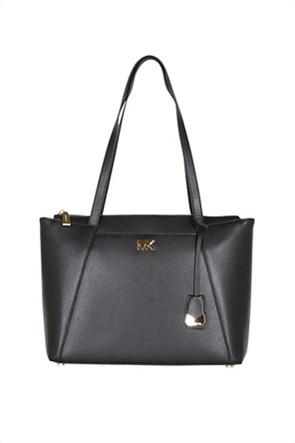c265dc9b7271 MICHAEL KORS BAGS · Μichael Kors γυναικεία δερμάτινη τσάντα χειρός Mercer  Large. 390
