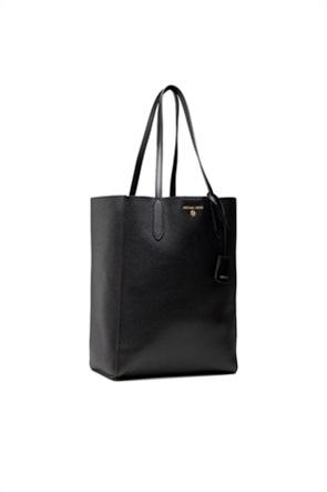 """Michael Kors γυναικεία δερμάτινη τσάντα ώμου με μεταλλικό λογότυπο """"Sinclair"""""""