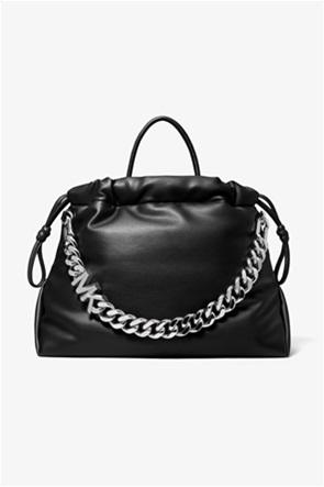 """Michael Kors γυναικεία τσάντα χειρός με μεταλλική αλυσίδα """"Lina"""""""