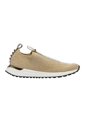 "Michael Kors γυναικεία slip-on sneakers με μεταλλικές λεπτομέρειες ""Bodie"""